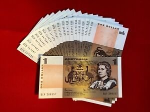 Australian-Decimal-Paper-1-Note-a-UnCirculated-Condition-In-Serial-Sequence