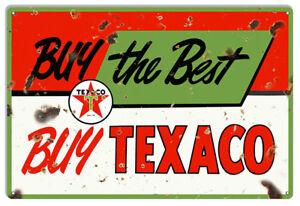 Texaco Red Truck Pin Up Girl Garage Shop Large Metal Sign 16x24