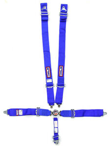 RJS Safety Harness 5 Point Camlock SFI 16.1 Pull Down Adjust Wrap Aro… (1034103)
