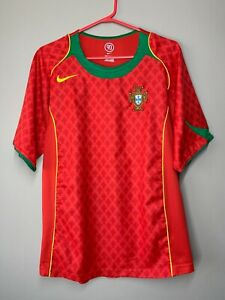Portugal 2004-2006 Home Football Shirt Soccer Jersey Camiseta size S