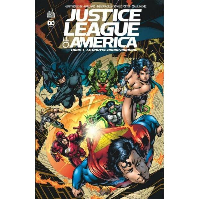 JUSTICE LEAGUE OF AMERICA  - TOME 1--URBAN COMICS--