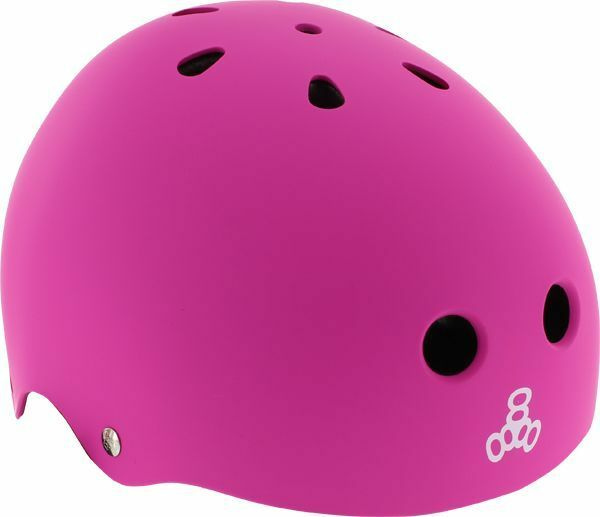 Triple 8 Lil  8 Helmet Neon Pink Rubber Cpsc  order now enjoy big discount