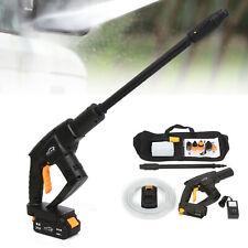 High Pressure Water Gun Power Washer Spray Car Garde Washing Cleaning Tool 21v