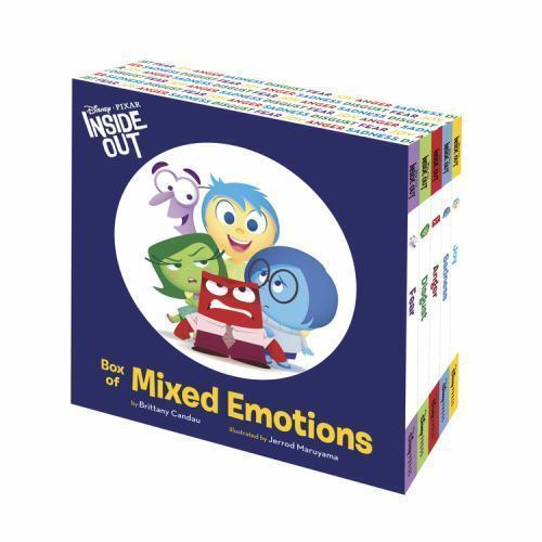 Inside Out Box of Mixed Emotions Hardback Cased Book
