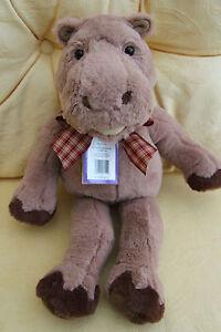 Charlie Bears- Hatfield the Hippo - Bear House Bears. BB153039A