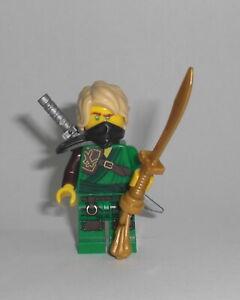 LEGO-Ninjago-Lloyd-70671-Figur-Minifig-Ninja-gruen-Eis-Samurai-Wolf-70671