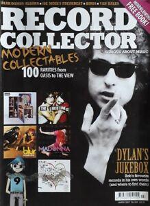 Record Collector Music Magazine.March 2007.Bob Dylan/Blur/Van Halen/Joe Meek+