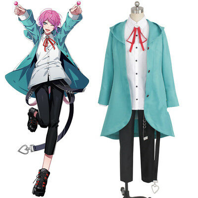 Hypnosis Mic Division Rap Battle DRB Amemura Ramuda Cosplay Costume Outfit Suit