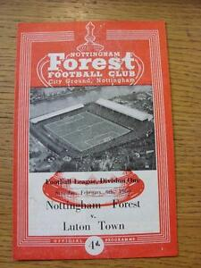 06021960 Nottingham Forest v Luton Town  Team Changes  Any faults with this - <span itemprop=availableAtOrFrom>Birmingham, United Kingdom</span> - Returns accepted within 30 days after the item is delivered, if goods not as described. Buyer assumes responibilty for return proof of postage and costs. Most purchases from business s - Birmingham, United Kingdom
