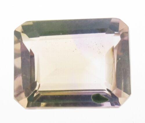 Bolivian Ametrine 10x8  Emerald Cut  Stone 2.30 cts $7.99