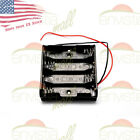 AA Battery Holder Case Box with Wire Leads for 4X Series AA Batteries 6V US