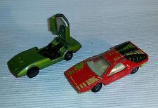 2x alte Spielzeugautos/Vintage toy cars MATCHBOX: Alfa Carago + Dodge Charger Mk