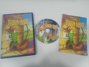 Robin-Hood-los-Classici-de-WALT-DISNEY-DVD-Spagnolo-Latino-English