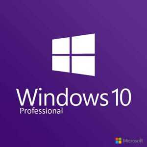 WINDOWS 10 PRO 32 / 64 BIT WIN 10 GENUINE LICENSE ORIGINAL ACTIVATION KEY HF