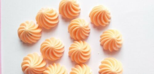 5//10pc strawberry iced gem candy cabochons DECODEN sweets Fake candy