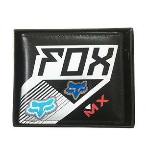 New-with-Box-FOX-Men-039-s-Surf-PU-Leather-Wallet-VALENTINE-Gift-221