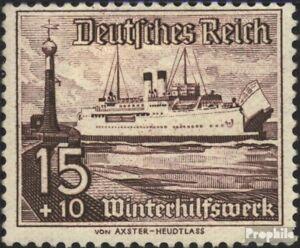 Deutsches-Reich-657-postfrisch-1937-Schiffe