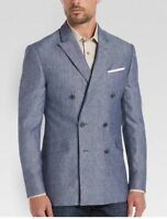 JOE Joseph Abboud Blue Linen Slim Fit Sport Coat (BLUE)