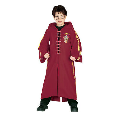 Rubie's Harry Potter, Quidditch Robe Childs / Boys / Girls Fancy Dress Costume
