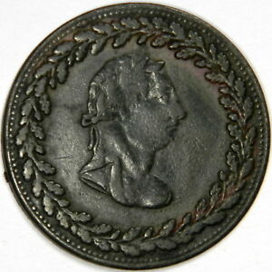 1812-CANADA-PENNY-TIFFIN-TOKEN-PRICED-RIGHT