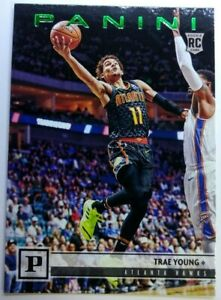 2018-18-19-Panini-Chronicles-Green-Trae-Young-Rookie-RC-131-Atlanta-Hawks