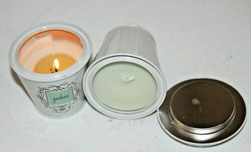 #017 LAFCO Little Luxuries Candle Tin    Gardenia  5oz