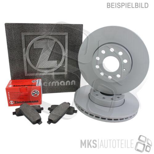 Zimmermann Disques De Frein Revêtements Devant RENAULT TRAFIC III encadré 4001312