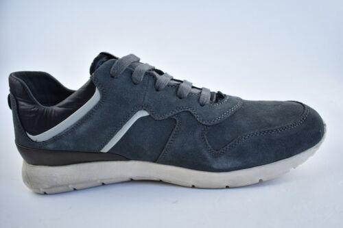 Geox Herren Sneaker Gr Blau 42 Der In Leder rgrnv