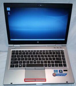 HP EliteBook 8460p Laptop i5 2520m 2.5GHz 8GB 120GB Sata Hard Drive WIN 7 NOBATT