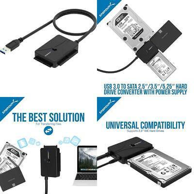 Sabrent USB 3.0 TO SATA//IDE 2.5//3.5//5.25-INCH Hard Drive Converter