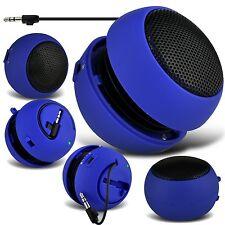 Blue Mini Capsule Travel Rechargable Bass Speaker For Alcatel Idol 2