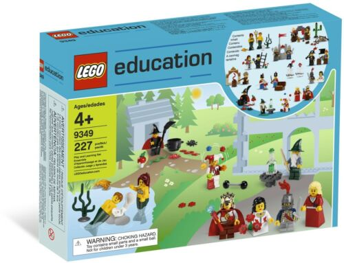 NEW SEALED LEGO 9349 EDUCATION FAIRYTALE AND HISTORIC 22 MINI FIGURE SET