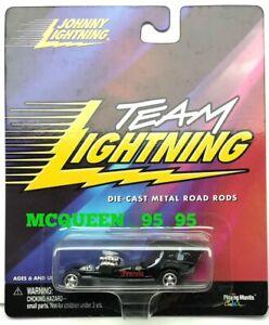 JOHNNY-LIGHTNING-TEAM-LIGHTNING-DIE-CAST-METAL-ROAD-RODS-DRACULA-039-S-DRAGSTER
