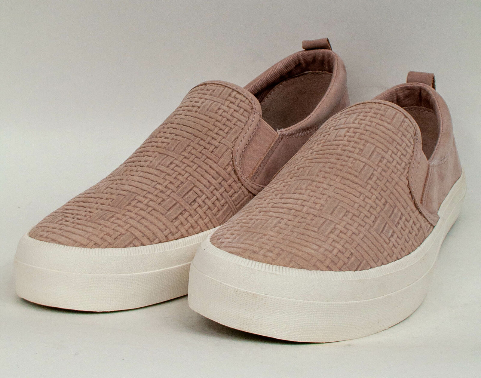 Sperry Crest Twin Gore Woven Embossed Sneaker Rose Dust Size 10M MSRP