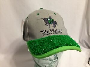 0ffd6037c9d5a Details about Sir Walter Premium Lawn Turf with Turf Sample Baseball  Trucker Strapback Cap New