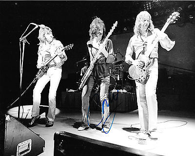 Signed 8x10 Photo Ad2 Coa Goods Of Every Description Are Available Craig Macgregor Nice Gfa Foghat Rock Band