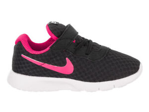 Details about Nike Tanjun TDV BlackHyper Pink White Toddler Shoes 818386 061 Free Shipping