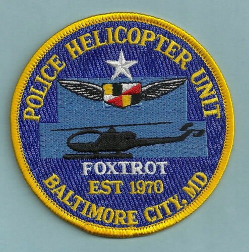 BALTIMORE MARYLAND POLICE AIR SUPPORT UNIT PATCH