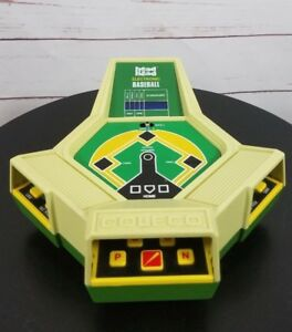 Vintage-1980-Coleco-Head-to-Head-Electronic-Baseball-Game
