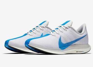 newest f9ca9 880a3 Nike Zoom Pegasus 35 Turbo White Blue Hero Grey Mens Running Shoes ...