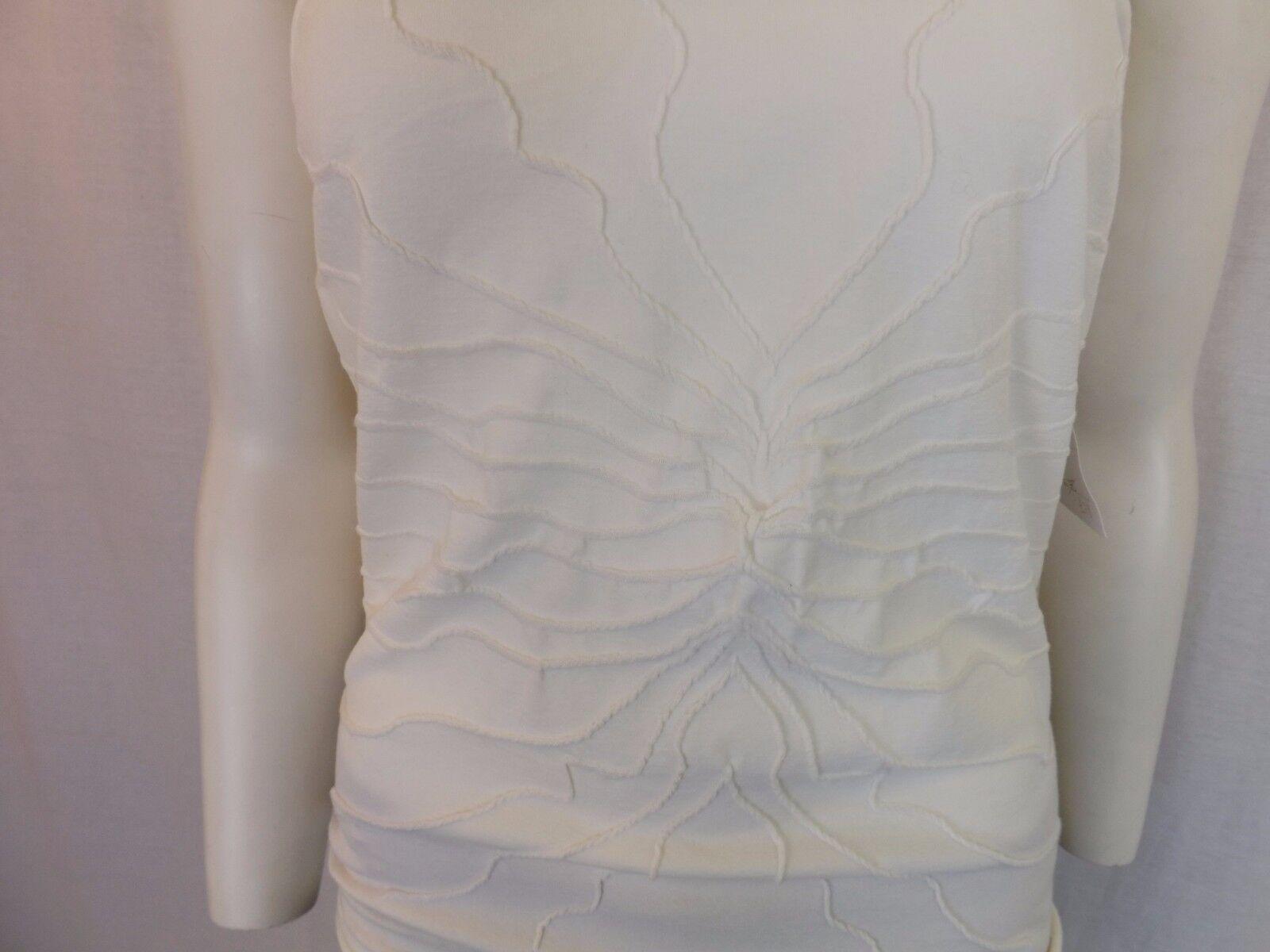 Le donne indossano indossano indossano Sarah Pacini cotone e elastan Top Taglia 2 SP 3356 NUOVO CON ETICHETTA 53e8c6