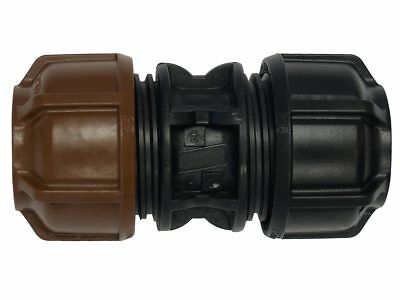 "Philmac 3G METRIC JOINER Copper*Australian Made-16mmx1//2/"",20mmx1//2/"" Or 20mmx3//4/"""