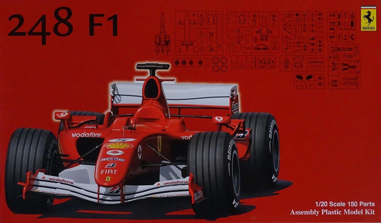 FUJIMI FERRARI 248 F1 Scala 1 20 Cod.09046