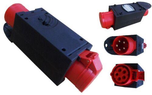 16 A C16A Stromverteiler Baustromverteiler Verteiler 0810 CEE Adapter 32A 400V