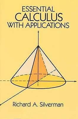Essential Calculus with Applications by Silverman, Richard A. (Paperback book, 1