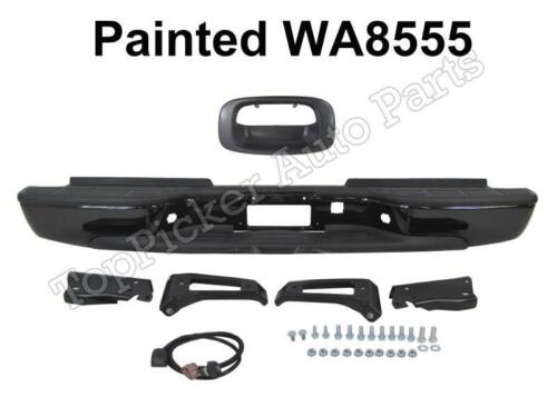 Painted WA8555 Rear Bumper Assy Handle For 99-07 Silverado 2500 HD Fleetside