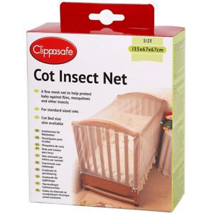Clippasafe Lit Insecte Net Taille standard-Entrepôt de dégagement