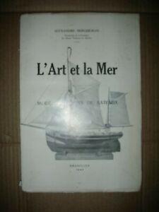 L'art Et La Mer André Berqueman Modèles Anciens De Bateaux Musée Marine Rare Imaaf1vt-08001625-844509105