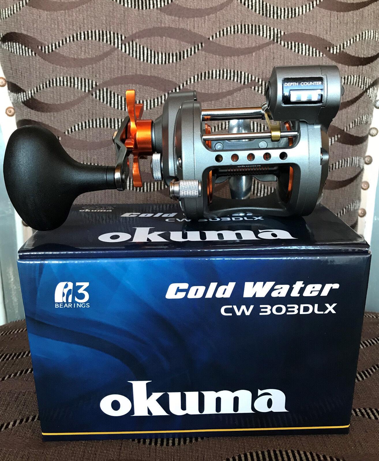 Okuma Cold Water CW-303DLX Linkshand Multirolle   no hesitation!buy now!