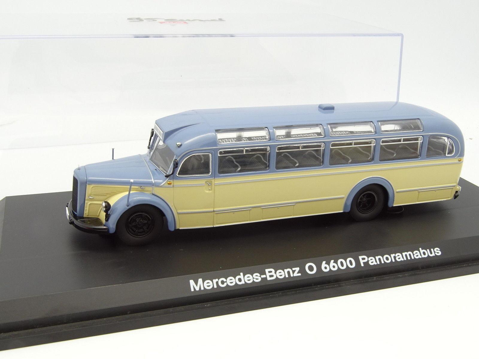 Schuco 1   43 - bus auto bus mercedes o 6600 panoramabus